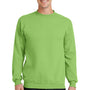 Port & Company Mens Core Fleece Crewneck Sweatshirt - Lime Green