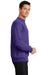 Port & Company PC78 Mens Core Fleece Crewneck Sweatshirt Purple Side