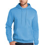 Port & Company Mens Core Fleece Hooded Sweatshirt Hoodie - Aquatic Blue