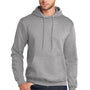 Port & Company Mens Core Fleece Hooded Sweatshirt Hoodie - Heather Grey