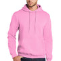Port & Company Mens Core Fleece Hooded Sweatshirt Hoodie - Candy Pink
