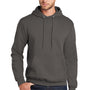 Port & Company Mens Core Fleece Hooded Sweatshirt Hoodie - Charcoal Grey