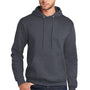 Port & Company Mens Core Fleece Hooded Sweatshirt Hoodie - Heather Navy Blue