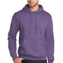 Port & Company Mens Core Fleece Hooded Sweatshirt Hoodie - Heather Purple
