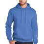 Port & Company Mens Core Fleece Hooded Sweatshirt Hoodie - Heather Royal Blue