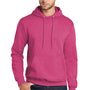 Port & Company Mens Core Fleece Hooded Sweatshirt Hoodie - Heather Sangria Pink