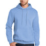 Port & Company Mens Core Fleece Hooded Sweatshirt Hoodie - Light Blue