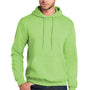 Port & Company Mens Core Fleece Hooded Sweatshirt Hoodie - Lime Green