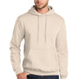 Port & Company Mens Core Fleece Hooded Sweatshirt Hoodie - Natural