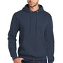 Port & Company Mens Core Fleece Hooded Sweatshirt Hoodie - Navy Blue