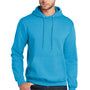 Port & Company Mens Core Fleece Hooded Sweatshirt Hoodie - Neon Blue