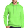 Port & Company Mens Core Fleece Hooded Sweatshirt Hoodie - Neon Green