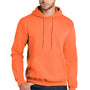 Port & Company Mens Core Fleece Hooded Sweatshirt Hoodie - Neon Orange