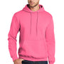 Port & Company Mens Core Fleece Hooded Sweatshirt Hoodie - Neon Pink