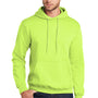 Port & Company Mens Core Fleece Hooded Sweatshirt Hoodie - Neon Yellow
