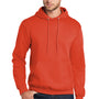 Port & Company Mens Core Fleece Hooded Sweatshirt Hoodie - Orange