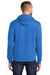 Port & Company PC78H Mens Core Fleece Hooded Sweatshirt Hoodie Royal Blue Back