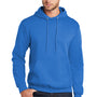 Port & Company Mens Core Fleece Hooded Sweatshirt Hoodie - Royal Blue
