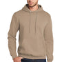 Port & Company Mens Core Fleece Hooded Sweatshirt Hoodie - Sand
