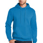 Port & Company Mens Core Fleece Hooded Sweatshirt Hoodie - Sapphire Blue
