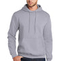 Port & Company Mens Core Fleece Hooded Sweatshirt Hoodie - Silver Grey