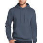 Port & Company Mens Core Fleece Hooded Sweatshirt Hoodie - Steel Blue