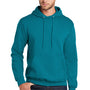 Port & Company Mens Core Fleece Hooded Sweatshirt Hoodie - Teal Green