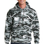 Port & Company Mens Core Fleece Hooded Sweatshirt Hoodie - Winter Camo