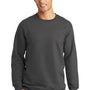 Port & Company Mens Fan Favorite Fleece Crewneck Sweatshirt - Charcoal Grey