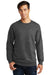 Port & Company PC850 Mens Fan Favorite Fleece Crewneck Sweatshirt Heather Dark Grey Front