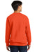 Port & Company PC850 Mens Fan Favorite Fleece Crewneck Sweatshirt Orange Back