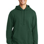 Port & Company Mens Fan Favorite Fleece Hooded Sweatshirt Hoodie - Forest Green