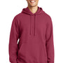 Port & Company Mens Fan Favorite Fleece Hooded Sweatshirt Hoodie - Garnet Red