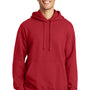 Port & Company Mens Fan Favorite Fleece Hooded Sweatshirt Hoodie - Team Cardinal Red