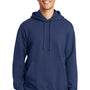 Port & Company Mens Fan Favorite Fleece Hooded Sweatshirt Hoodie - Team Navy Blue