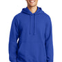 Port & Company Mens Fan Favorite Fleece Hooded Sweatshirt Hoodie - True Royal Blue