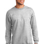 Port & Company Mens Essential Fleece Crewneck Sweatshirt - Ash Grey