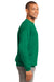 Port & Company PC90 Mens Essential Fleece Crewneck Sweatshirt Kelly Green Side