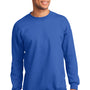 Port & Company Mens Essential Fleece Crewneck Sweatshirt - Royal Blue