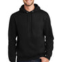 Port & Company Mens Essential Fleece Hooded Sweatshirt Hoodie - Jet Back