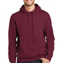 Port & Company Mens Essential Fleece Hooded Sweatshirt Hoodie - Cardinal Red