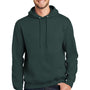 Port & Company Mens Essential Fleece Hooded Sweatshirt Hoodie - Dark Green