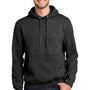 Port & Company Mens Essential Fleece Hooded Sweatshirt Hoodie - Heather Dark Grey