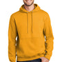Port & Company Mens Essential Fleece Hooded Sweatshirt Hoodie - Gold