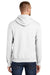 Port & Company PC90H Mens Essential Fleece Hooded Sweatshirt Hoodie White Side