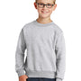 Port & Company Youth Core Fleece Crewneck Sweatshirt - Ash Grey