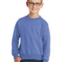Port & Company Youth Core Fleece Crewneck Sweatshirt - Carolina Blue