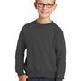 Port & Company Youth Core Fleece Crewneck Sweatshirt - Charcoal Grey