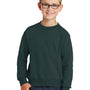 Port & Company Youth Core Fleece Crewneck Sweatshirt - Dark Green