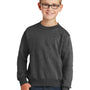 Port & Company Youth Core Fleece Crewneck Sweatshirt - Heather Dark Grey